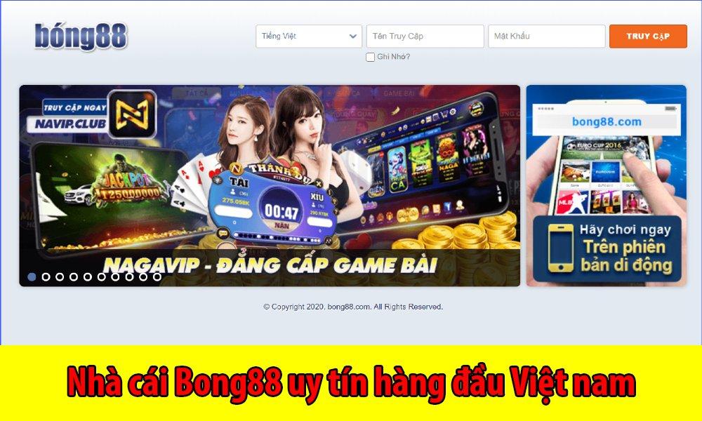 Nhà cái Bong88 uy tín hàng đầu Việt nam